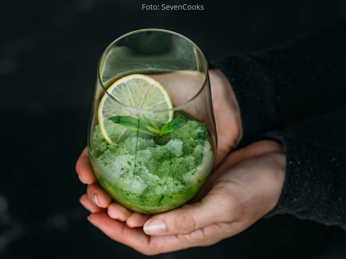 Veganes Rezept: Limette-Minze-Slush 2