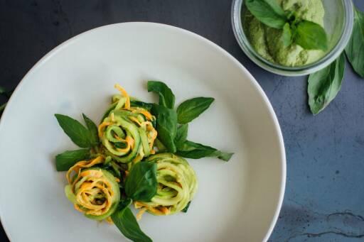 Low Carb Gemüsepasta