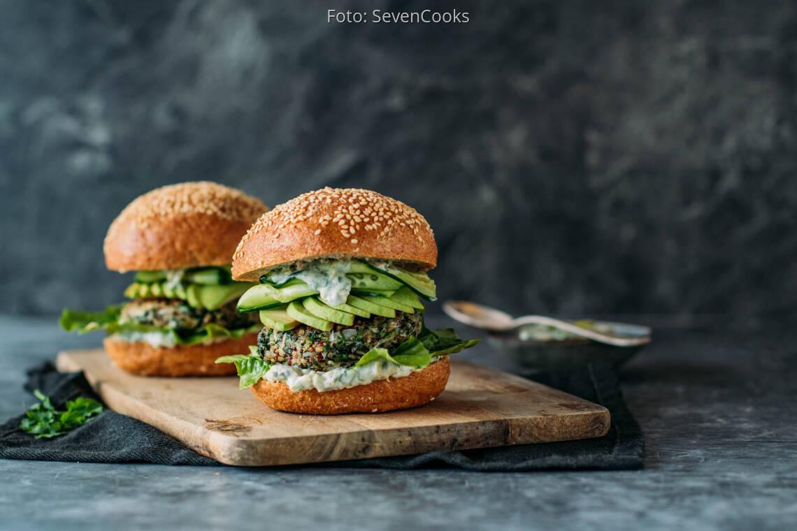 Veganes Rezept: Mangold Burger_1