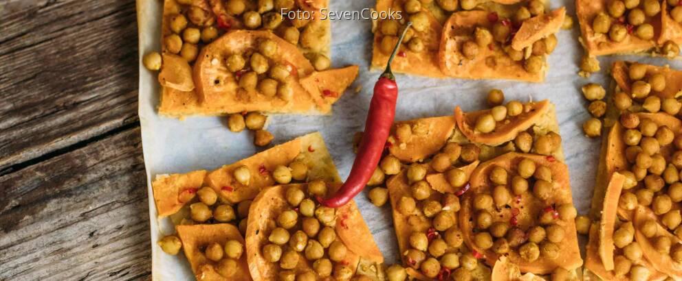 Veganes Rezept: Orientalischer Flammkuchen_1