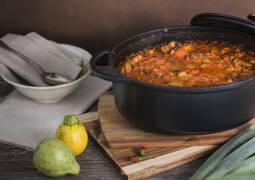 Veganes Rezept: Orientalischer Schmortopf