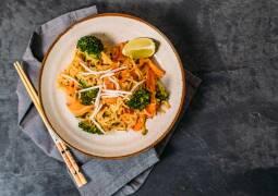 Veganes Rezept: Pad Thai mit Brokkoli 1