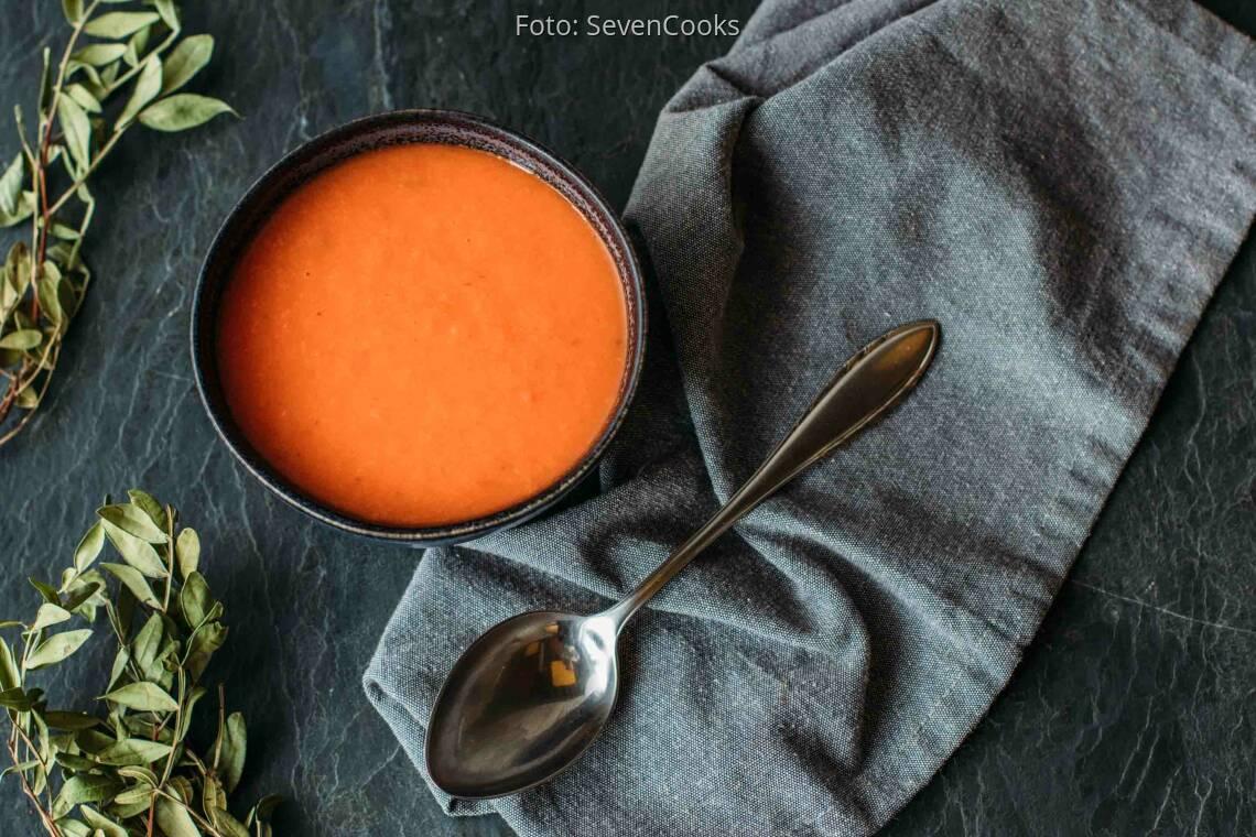 Veganes Rezept: Paprika-Fenchel-Suppe 1