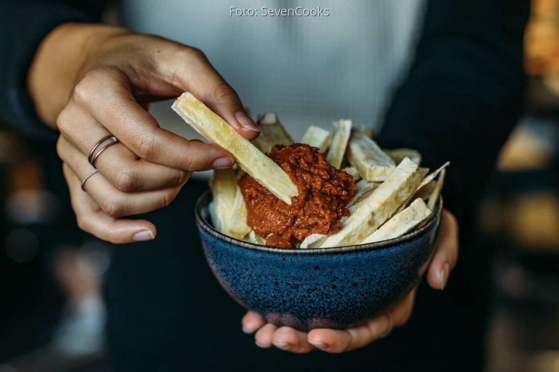 Veganes Rezept: Pastinaken Pommes 1