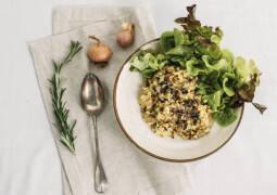 Veganes Rezept: Pilzrisotto