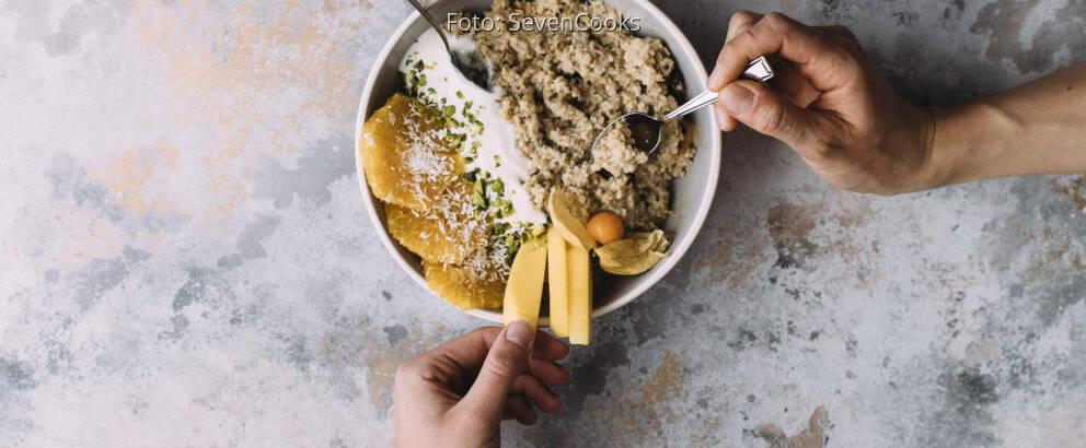 Veganes Rezept: Porridge 2