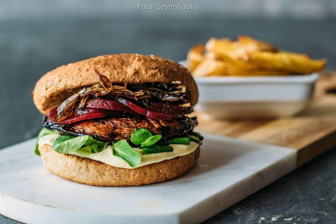 Veganes Rezept: Portobello-Burger 1