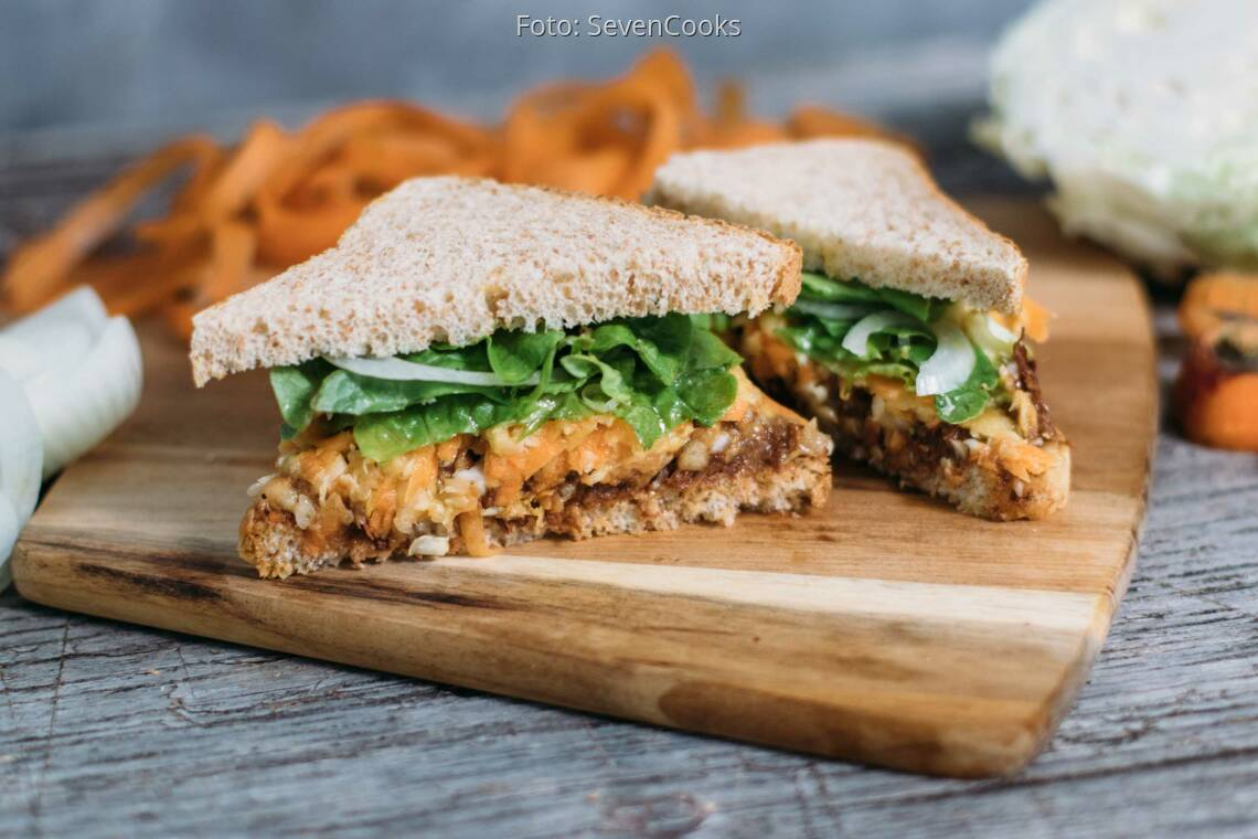 Veganes Rezept: Pulled-Jackfruit-Sandwich_1