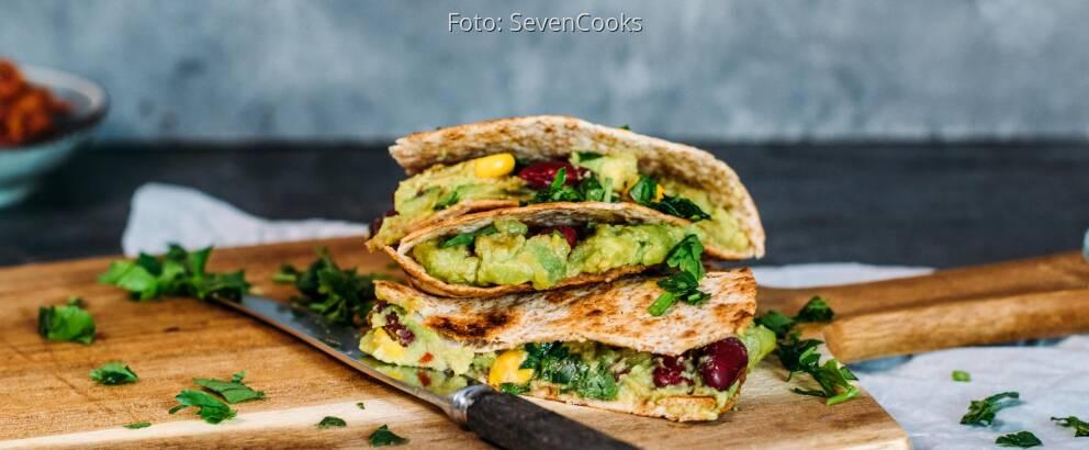 Veganes Rezept: Quesadillas vegan 1