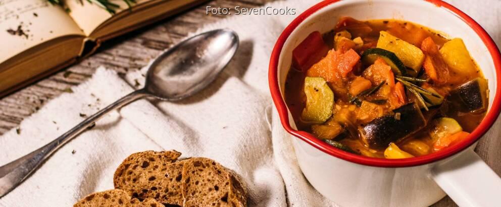 Veganes Rezept: Ratatouille 1