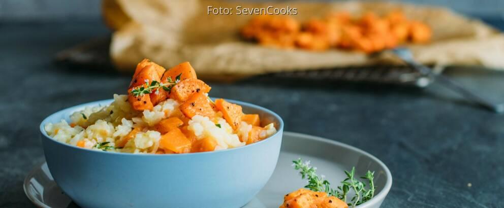 Veganes Rezept: Risotto von der Süßkartoffel_1