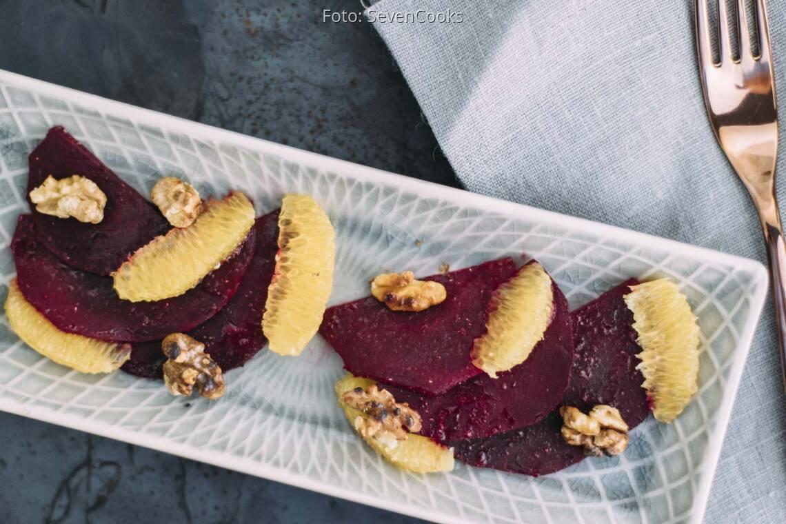 Veganes Rezept: Rote-Bete-Carpaccio
