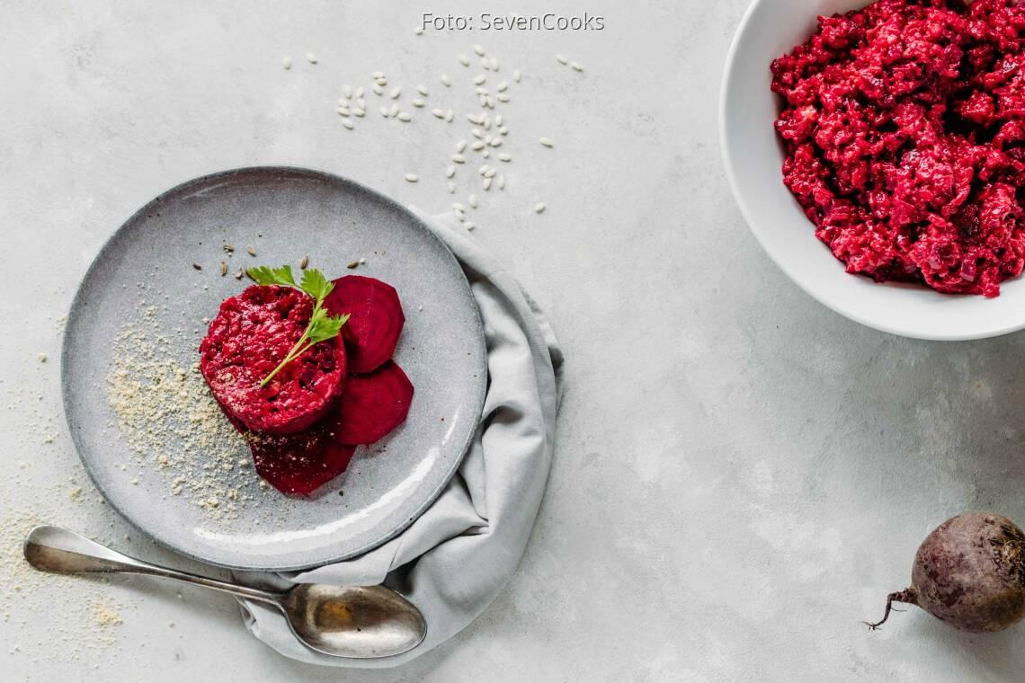 Veganes Rezept: Rote Bete Risotto 1
