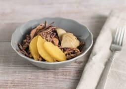 Veganes Rezept: Rotkohlsalat mit Tahin-Dressing 1