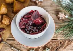 Veganes Rezept: Rotwein-Schalotten-Soße
