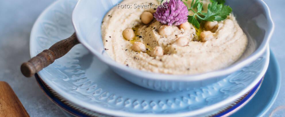 Veganes Rezept: Schnelles Hummus