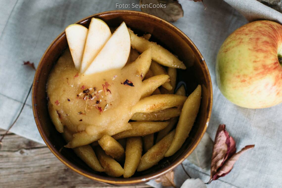 Veganes Rezept: Schupfnudeln Süß