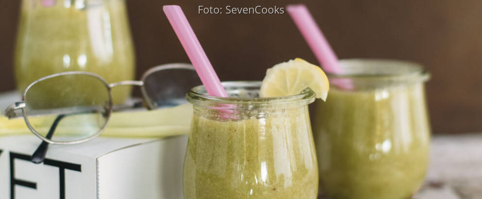 Veganes Rezept: Sellerie-Matcha-Smoothie 1