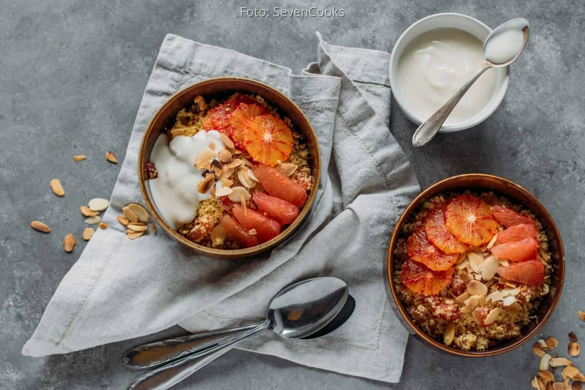 Veganes Rezept: Süßes Couscousfrühstück 1