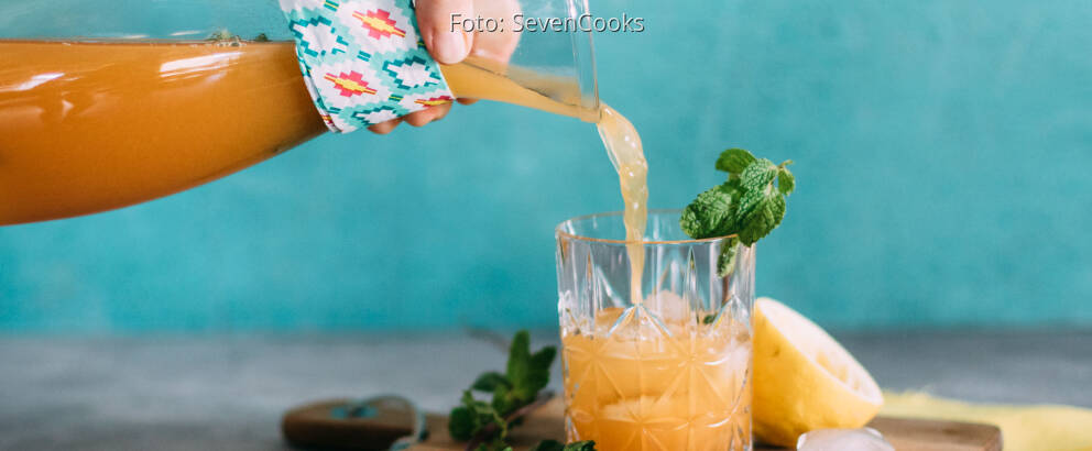 Veganes Rezept: Sommerpunsch