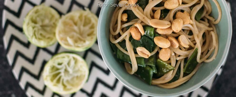 Veganes Rezept: Spaghetti mit Kokos-Limetten-Sauce_2