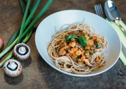 Veganes Rezept: Spaghetti Verdure