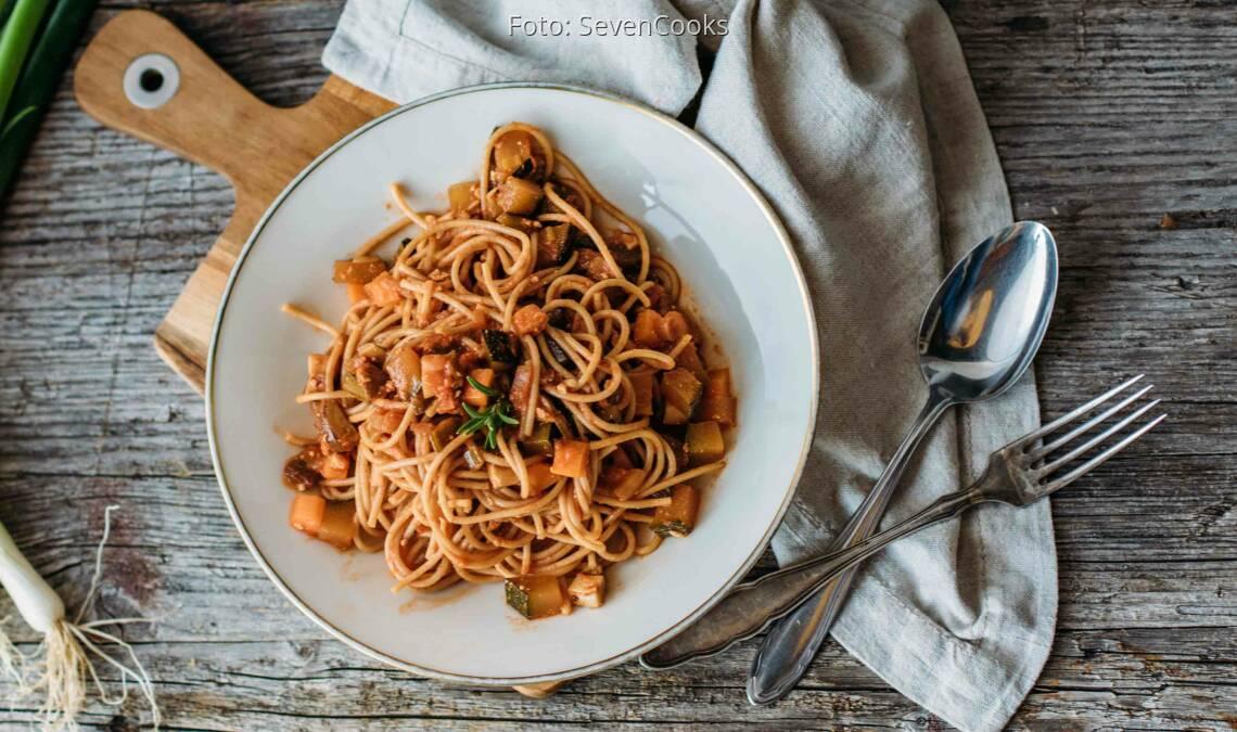 Veganes Rezept: Spaghetti Verdure_1