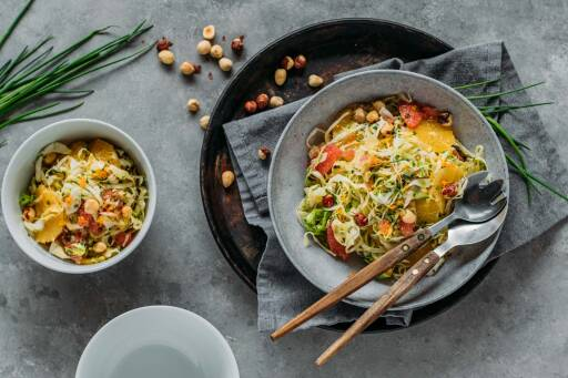 Veganes Rezept: Spitzkohlsalat