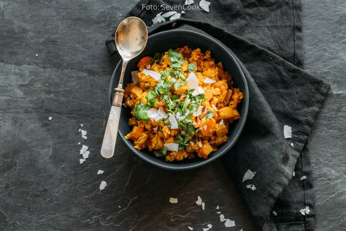 Veganes Rezept: Steckrüben-Curry 1