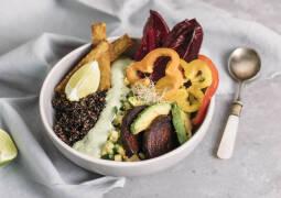 Veganes Rezept: Südamerikanische Quinoa-Bowl