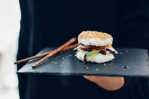 Fertiges Rezept: Sushi Burger_1