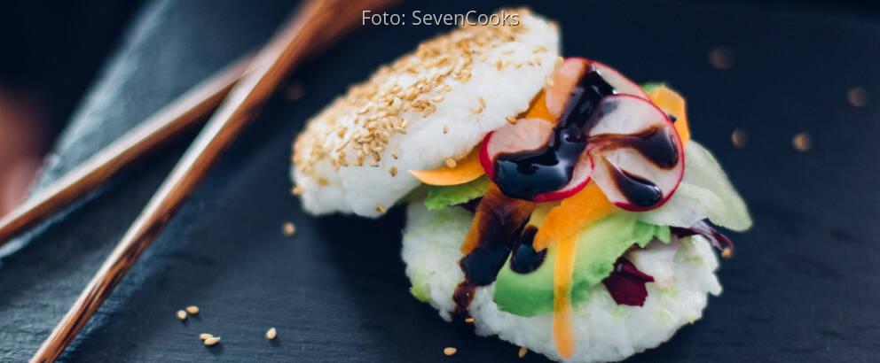 Fertiges Rezept: Sushi Burger_2