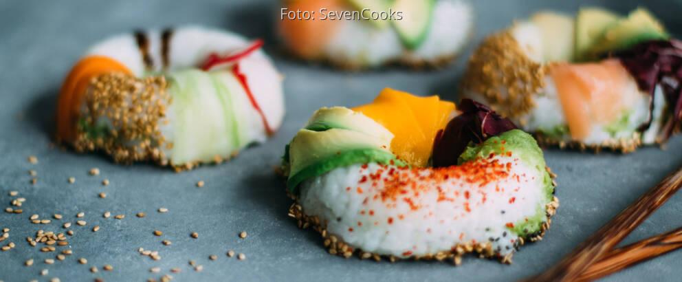 Fertiges Rezept: Sushi Donut_2