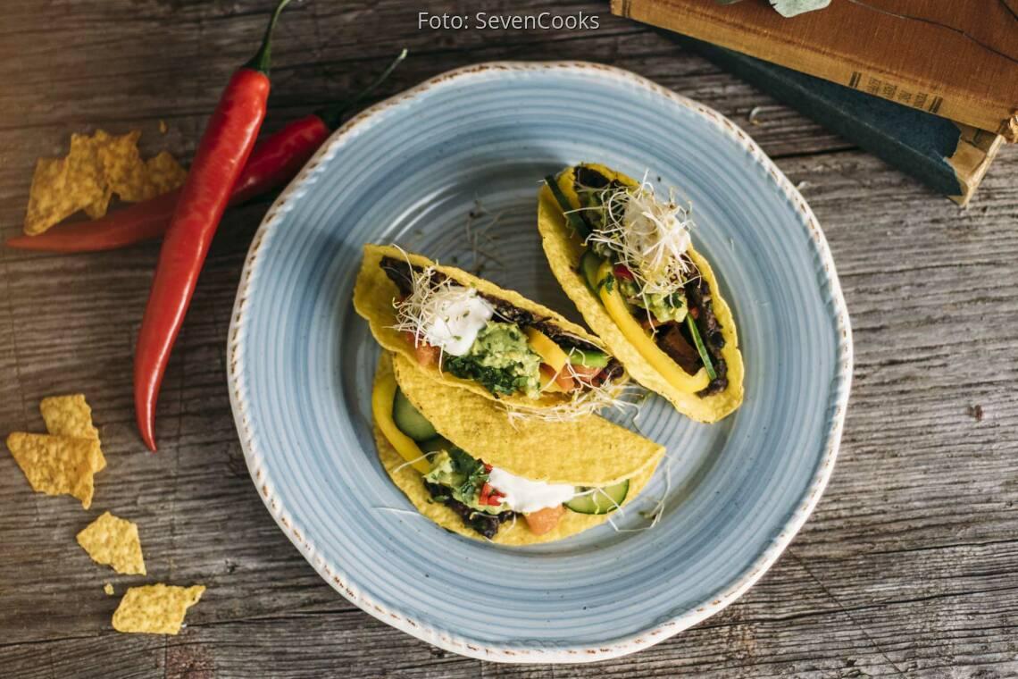 Veganes Rezept: Tex-Mex-Tacos 1