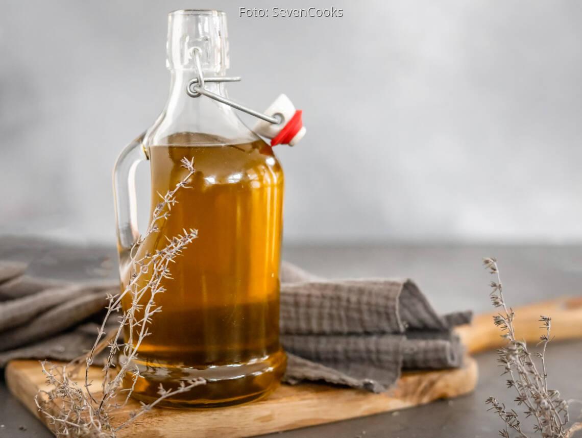 Veganes Rezept: Thymian-Öl 1