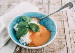 Veganes Rezept: Tomaten-Reis