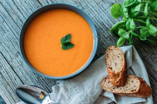 Veganes Rezept: Tomatensuppe_1