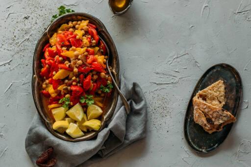 Veganes Rezept: Tunesischer Paprikasalat 1