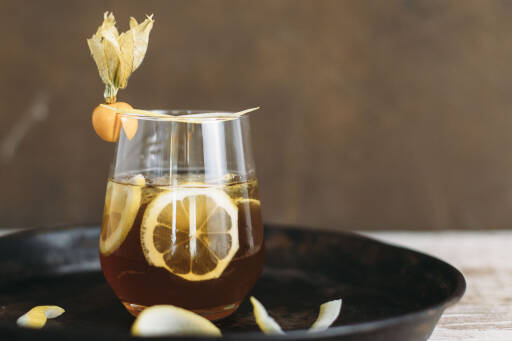 Veganes Rezept: Vanilla-Coffee Gin Tonic 1