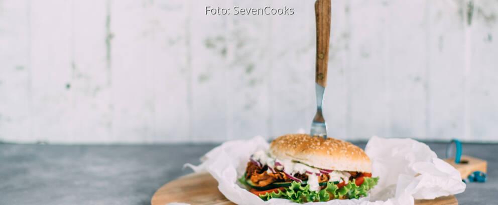 Veganes Rezept: Vegan Pulled Pork Burger_3