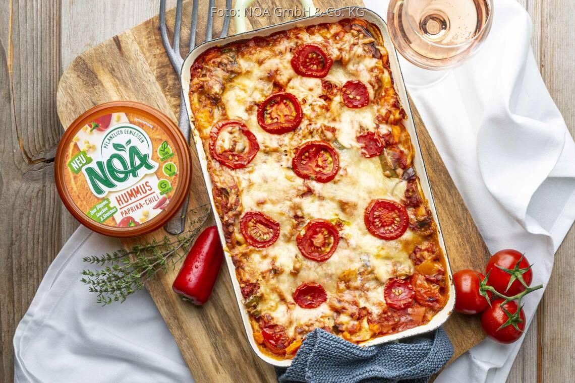 Veganes Rezept: Vegane Gemüselasagne von NOA