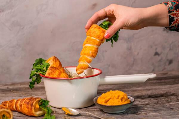 Vegane Oster-Snack-Karotten