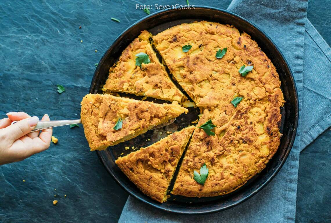"""Veganes Rezept: Vegane Tortilla """"Mediterran""""_1"""