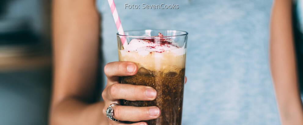 Veganes Rezept: Veganer Eiskaffee