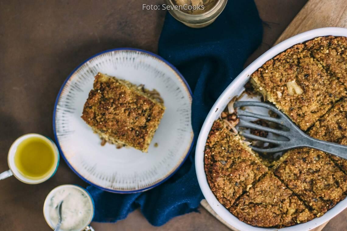 Veganes Rezept: Veganer Kibbeh-Auflauf