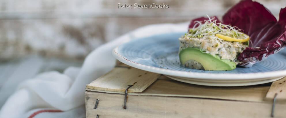 Veganes Rezept: Veganer Thunfischsalat 2