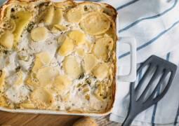 Veganes Rezept: Veganes Kartoffelgratin_1