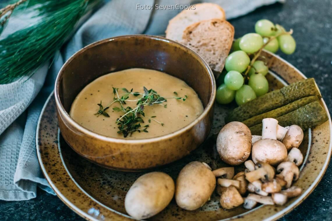 Veganes Rezept: Veganes Käsefondue_1