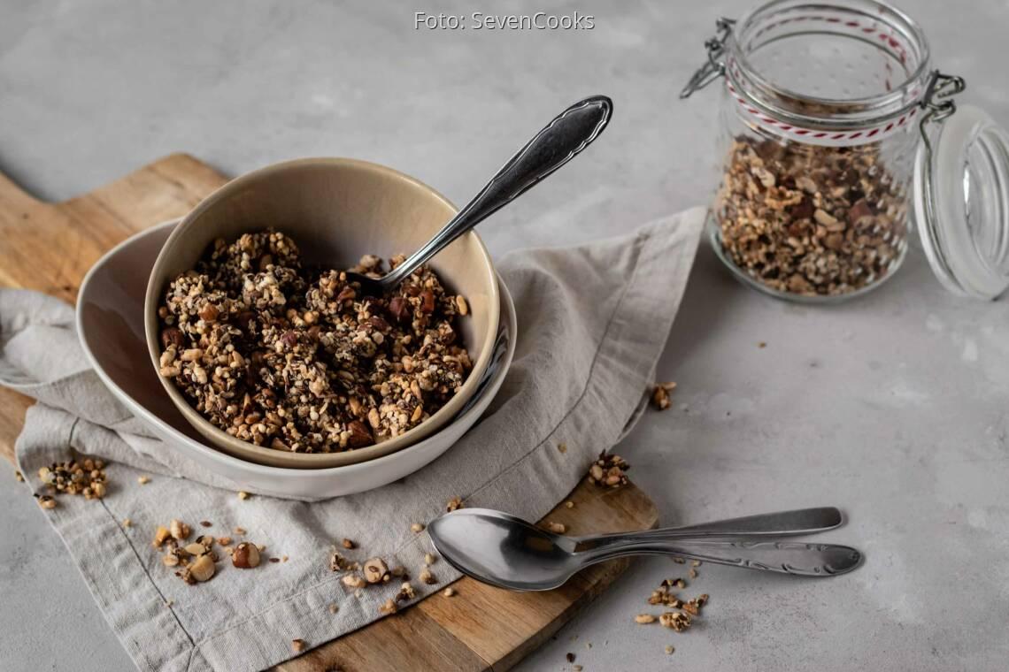 Veganes Rezept: Veganes Müsli ohne Zucker 1