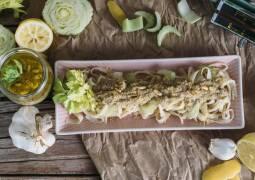 Veganes Rezept: Veganes Pesto mit Stangensellerie 1